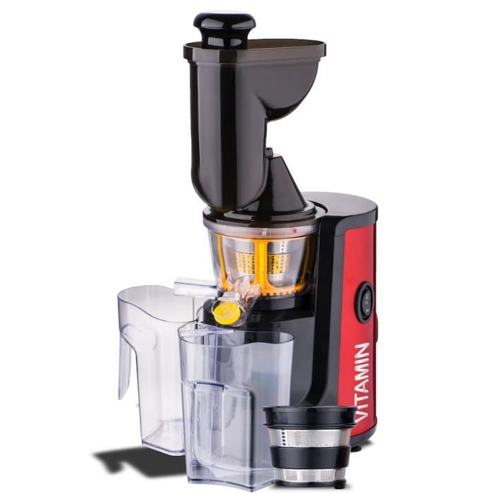 Slow Juicer Smoothie : Robot Slow Juicer e.zicook vITAMIN XL Smoothie - Achat / vente robot multifonctions - Les soldes ...