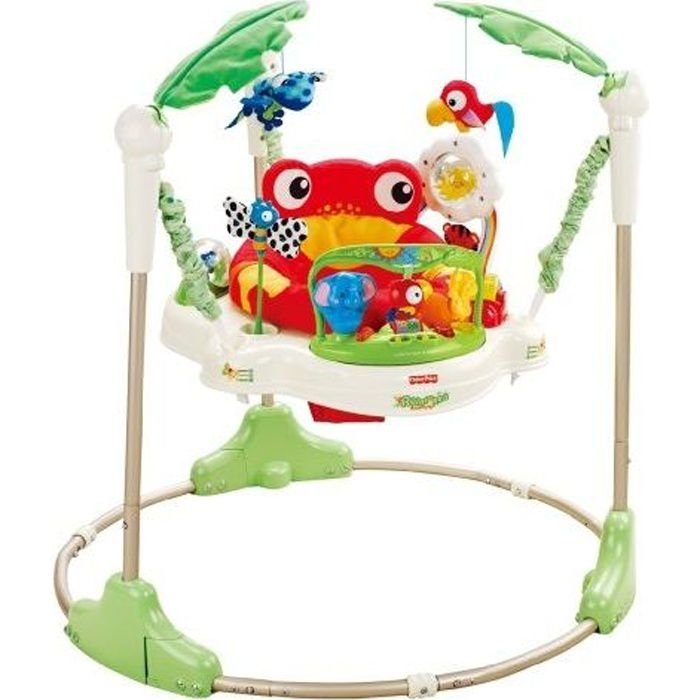 FISHER PRICE Jumperoo Jungle - Achat / Vente clé éveil - Cdiscount