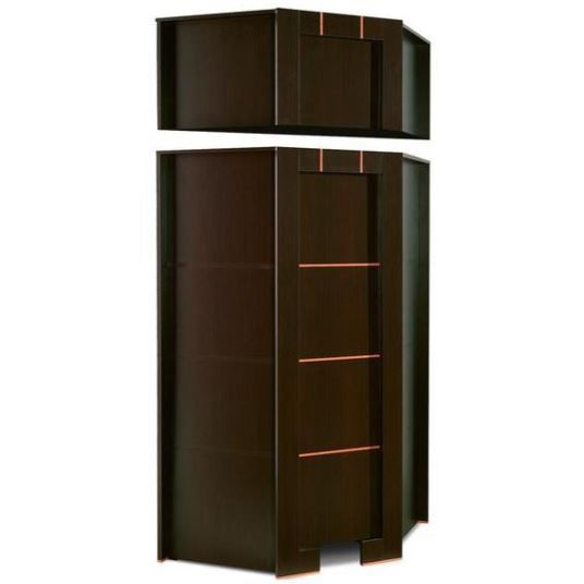 armoire dressing d angle moderne achat vente armoire. Black Bedroom Furniture Sets. Home Design Ideas