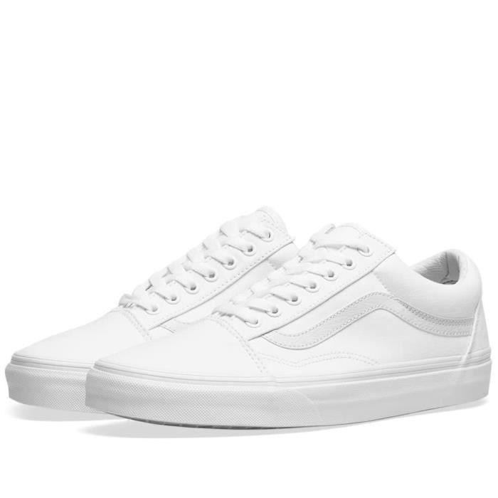 vans blanche pas cher