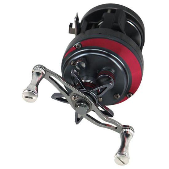 Pièces Double Poignée Rocker Rechange 1pc Spinning Moulinet de pêche Metal utile