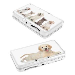HOUSSE DE TRANSPORT Coque NEW 3DS Chien 3 Dog Chat Cat Labrador mignon