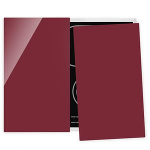 PLAQUE INDUCTION Couvre plaque de cuisson - Bordeaux - 52x60cm, pro