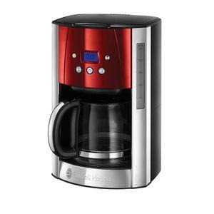 MACHINE À CAFÉ Machine à Café, Cafetière Luna 1.5L Inox, 12 Tasse