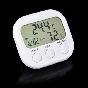 THERMOMÈTRE - BAROMÈTRE Thermomètre intérieur extérieur numérique intérieu