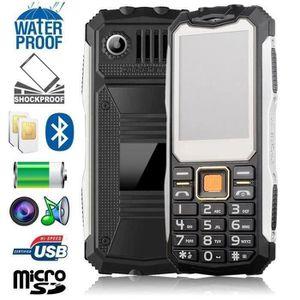 Téléphone portable Téléphone tout terrain mobile antichoc dual sim et