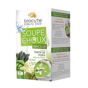 SOUPE biocyte soupe aux choux minceur 12x9g