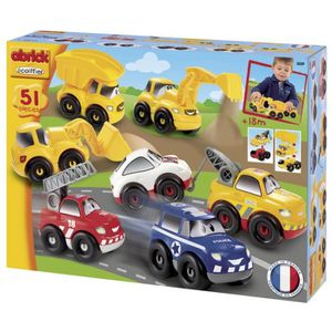 ASSEMBLAGE CONSTRUCTION ABRICK Coffret Fast Car