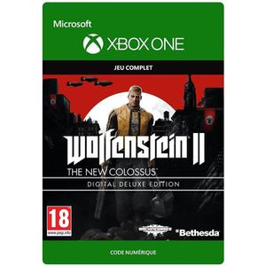 JEU XBOX ONE À TÉLÉCHARGER Wolfenstein II The New Colossus Edition Digital De