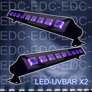 Sans fil Rechargeable Tenu à La Main DEL UV Violet Lumière Noire Lit Carreaux
