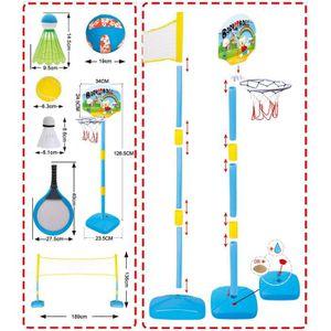 ACCESSOIRES SUCETTE  MGM 2 raquettes de badminton + 2 volants + filet +