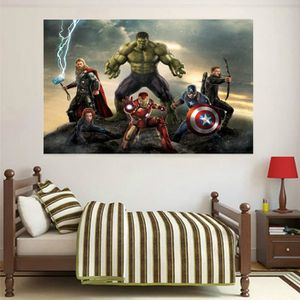 STICKERS Stickers muraux enfant Avengers Capitaine America