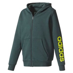 fcea720553e84 PARKA DE RUNNING Vêtements enfant Sweatshirts Adidas Linear Full Zi