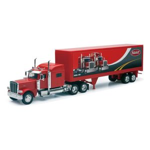 VOITURE - CAMION NEW RAY  Camion PETERBILT Conteneur - Miniature -