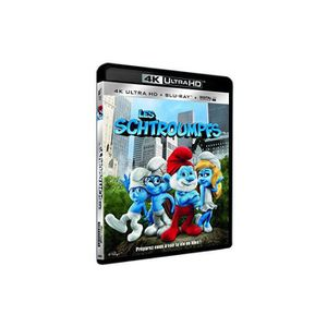 BLU-RAY FILM Les Schtroumpfs [Combo Blu-Ray, Blu-Ray 4K]