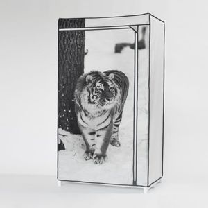 PENDERIE SOUPLE Penderie souple TIGRE 160x75x50 cm