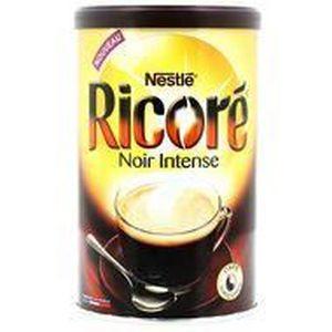CHICORÉE & CAPPUCCINO Neslé Ricoré Café soluble noir intense à la chicor