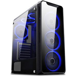 UNITÉ CENTRALE + ÉCRAN VIBOX Nebula GLR550T-45 Pack PC Gamer - AMD 6-Core