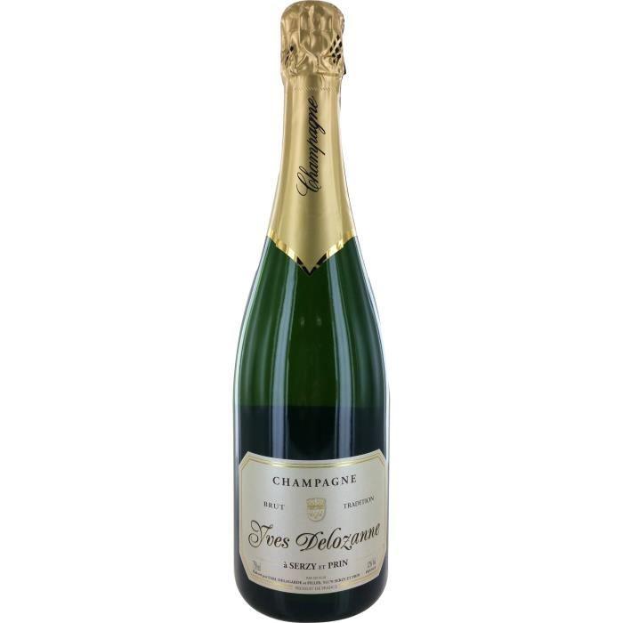 Champagne Delozanne Brut - 75 cl