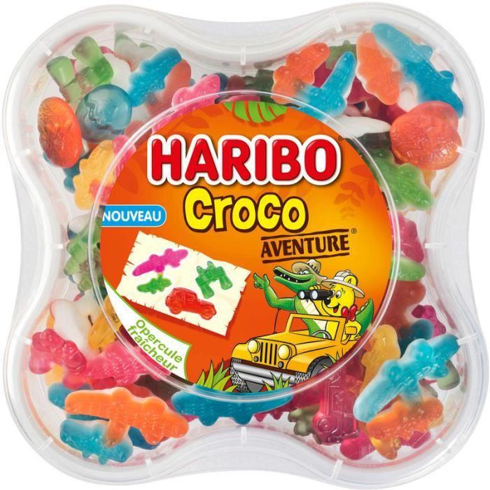 HARIBO Bonbons Croco Aventure - 570 g