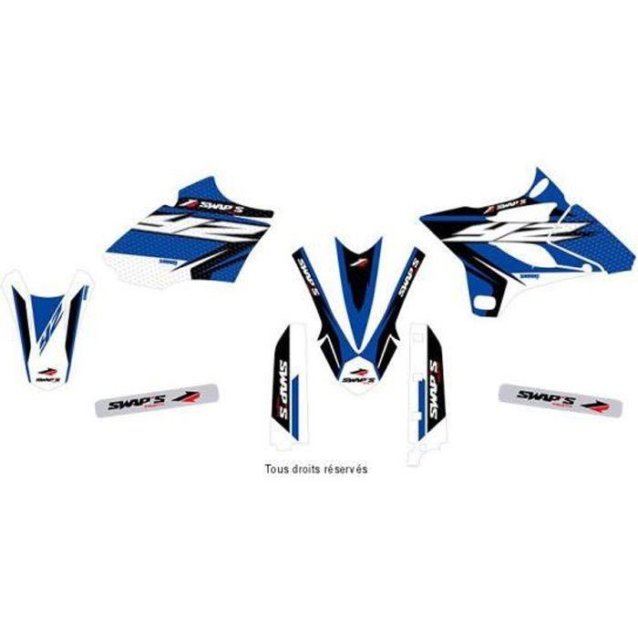Kit Deco Diamond Light Yamaha YZ 85 2015- Bleu