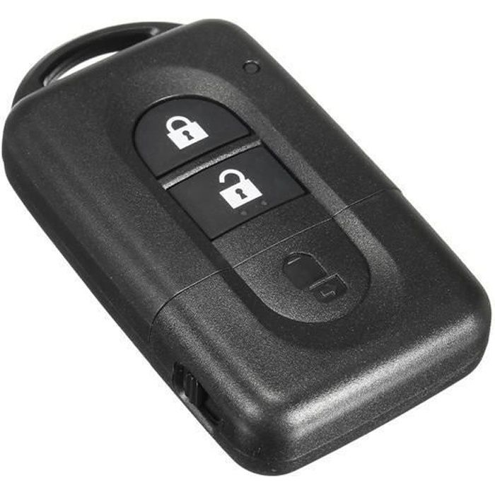 CLE PLIP NISSAN Micra X-trail Qashqai Juke Duke Navara Note Pathfinder 2 boutons TELECOMMANDE @Pro-Plip