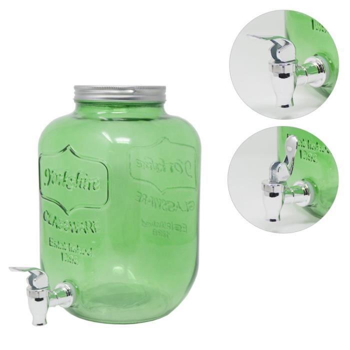 DRULINE distributeur de boissons 5 litres de vert 5099-9