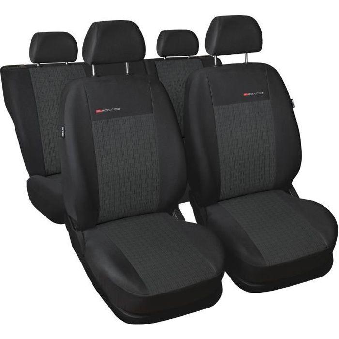 Housse De Siège Voiture Auto convient pour Peugeot 305 306 307 308 gris Elegance P1