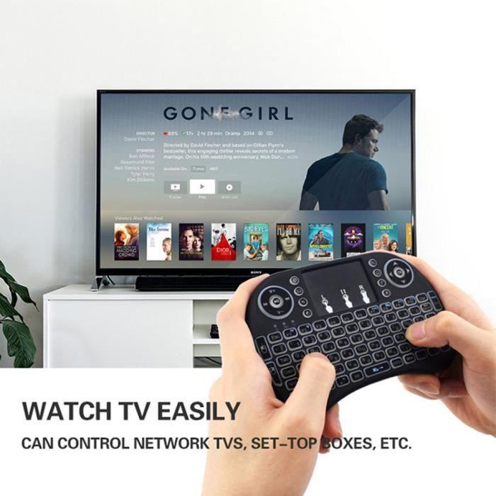 Clavier de manette sans fil 2.4G, adapté pour Xbox 360 pour Sony PS3, adapté pour Android TV Box PC version anglaise pc gamer