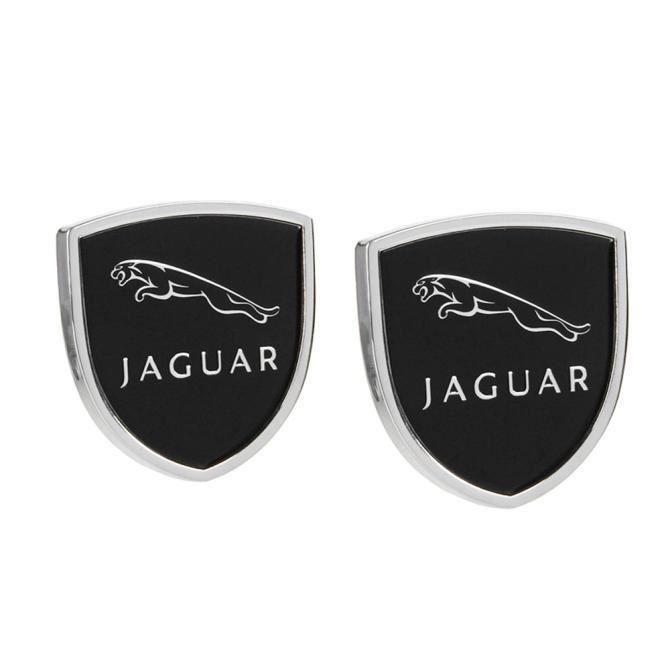 2PCS - SET POUR JAGUAR S-TYPE F-PACE F-TYPE X-TYPE X-TYPE XE XF XKR XFR VOITURE MODIFIÉE EMBLEM Automobile Stickers de la queue en m