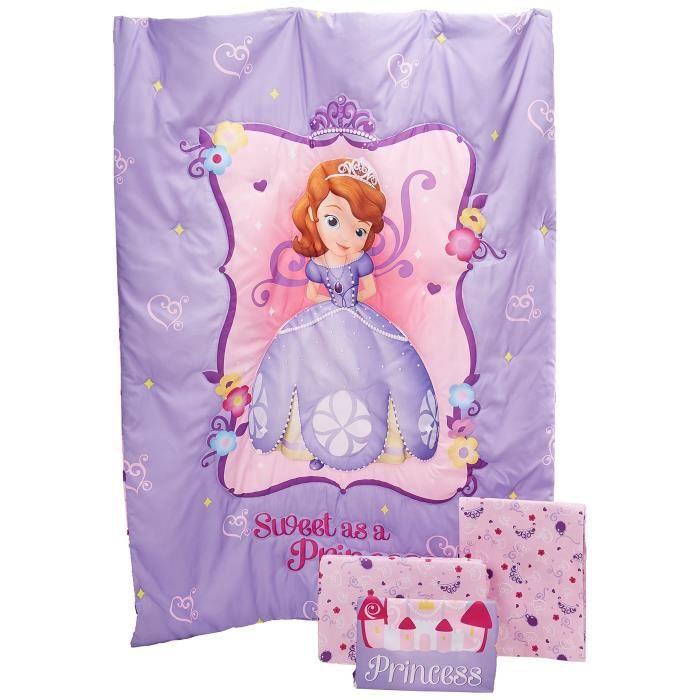 Disney Sofia 4 pièces Le premier ensemble enfant en bas âge, Sweet As A Princess HE400