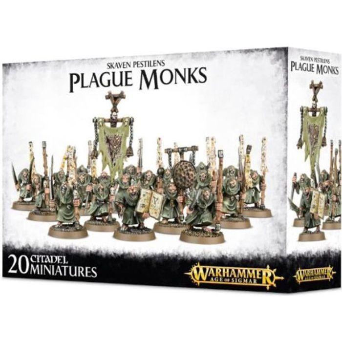 Skaven Pestilens Plague Monks 90-12 - Warhammer Age of Sigmar