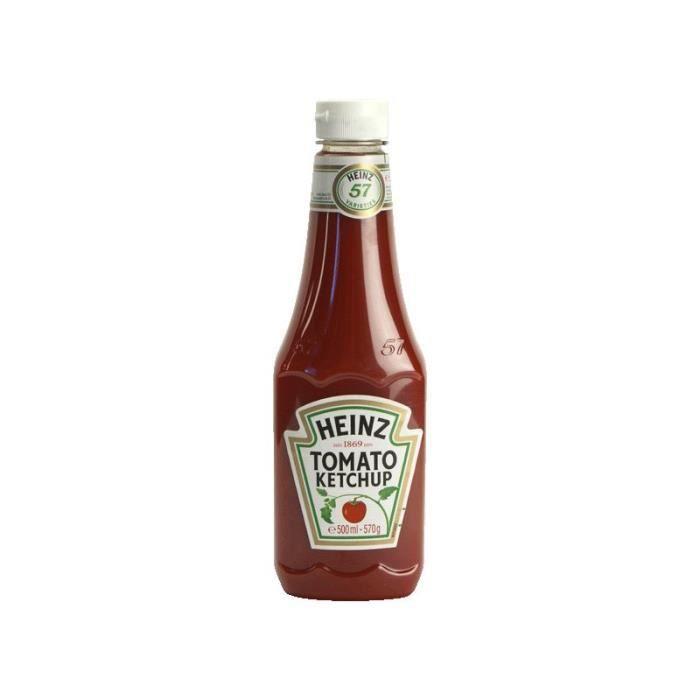 HEINZ Ketchup Top Up - Bio- 570 g