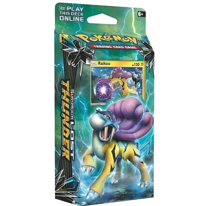 Pokemon Soleil Et Lune 8 Deck Raikou - Starter Invocateur De Tempetes - Cartes A Collection Francaise