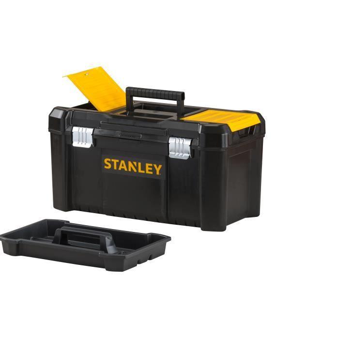 Lot de 2 boîtes à outils 30 et 50 cm - STANLEY