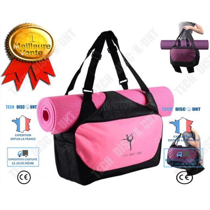 TD® sac à dos yoga rangement simple léger solide utilisation simple sport fitness musculation accessoire cadeau vêtement