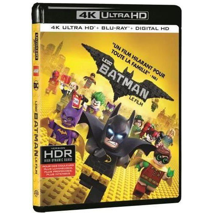 Warner Home Video Lego Batman Le film Blu-ray 4K Ultra HD - 5051889606239