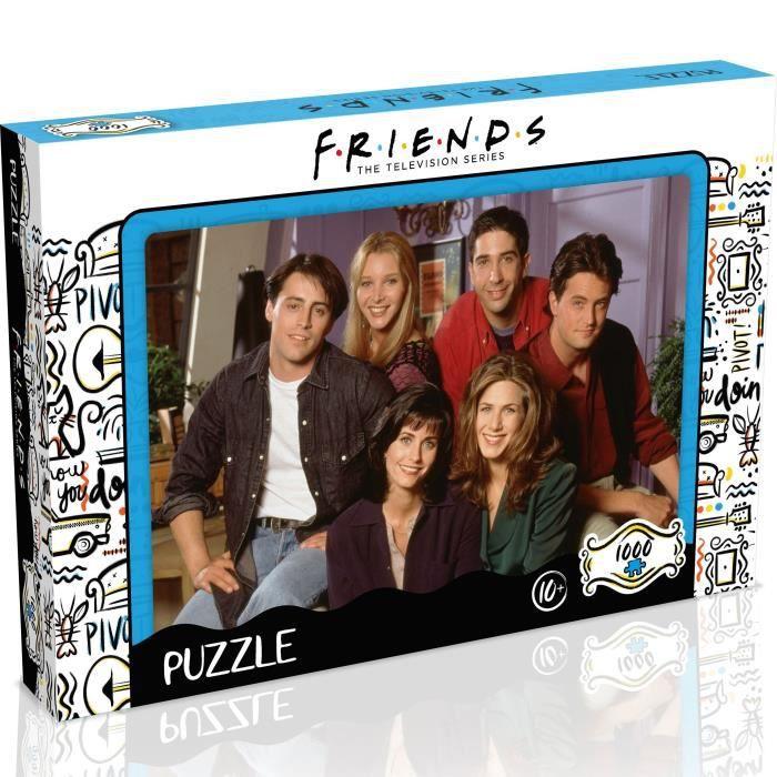 FRIENDS Puzzle Appartement 1000 pièces