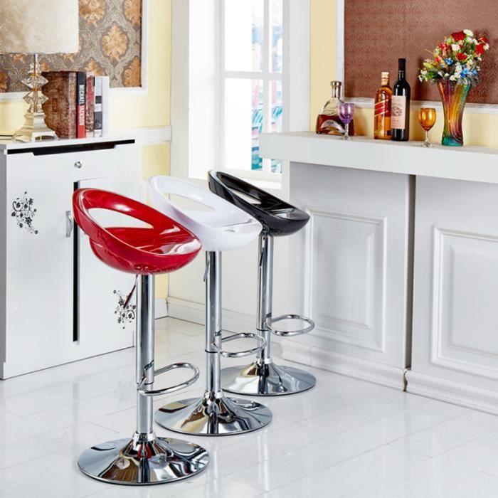 Comptoir Chaise de bar pour comptoir de cuisine Noir ...