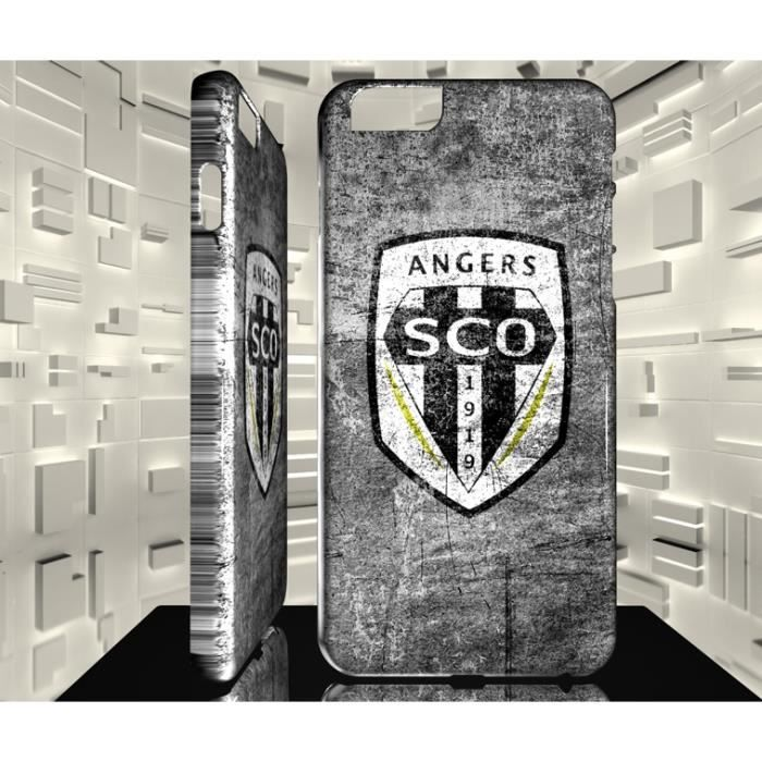 Coque pour iPhone 6 6S Football Club Angers SCO 01