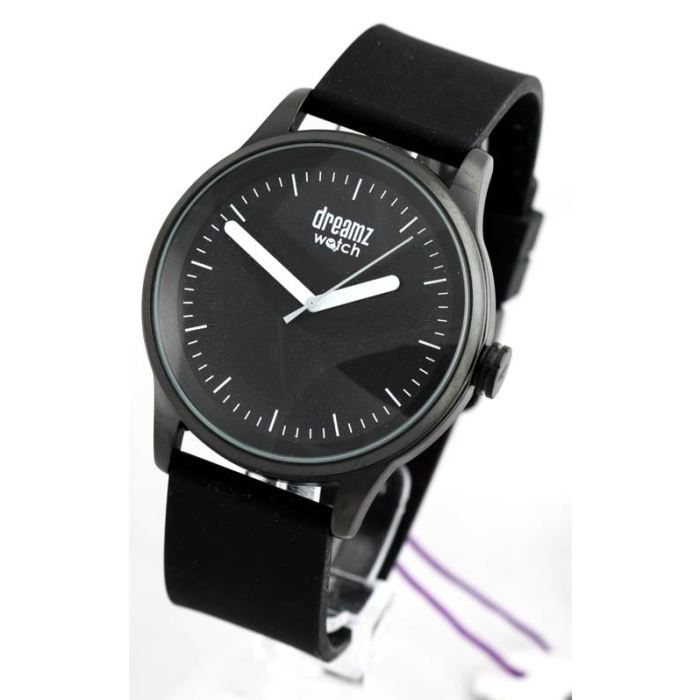 montre homme bracelet silicone noir citizen dream noir classique achat vente montre cdiscount. Black Bedroom Furniture Sets. Home Design Ideas