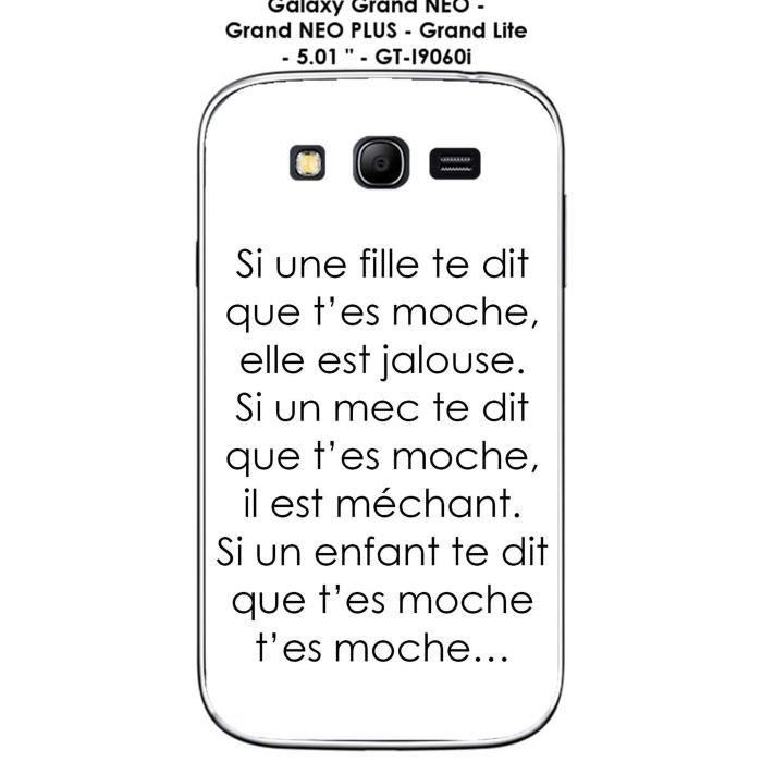 Coque Samsung Galaxy Grand PLUS - GT-I9060i - Grand NEO PLUS - Grand Lite - 5.01