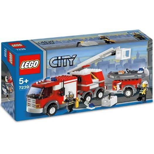 lego city le camion des pompiers achat vente assemblage construction cdiscount. Black Bedroom Furniture Sets. Home Design Ideas