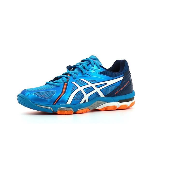 Asics Gel-Volley Elite 3 B500N-4301 Homme Baskets Blanc,Bleu
