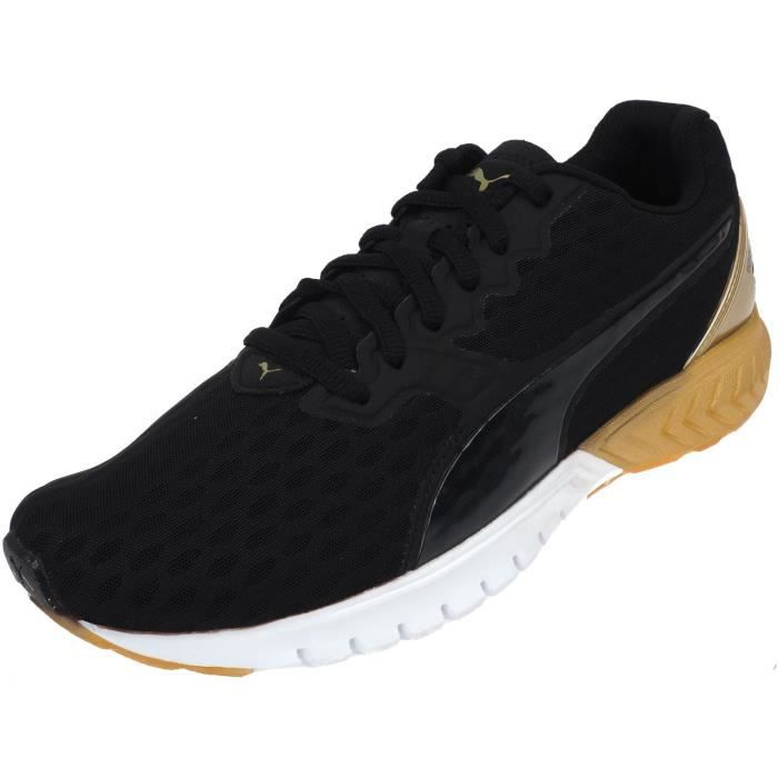 Prix Dual Black Puma Chaussures Running L Pas Cher Gold Ignite PkOX80nw