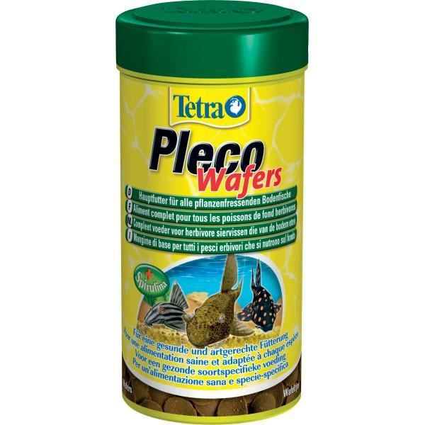 Tetra tetra pleco wafers 250 ml achat vente flocons for Distribution nourriture poisson