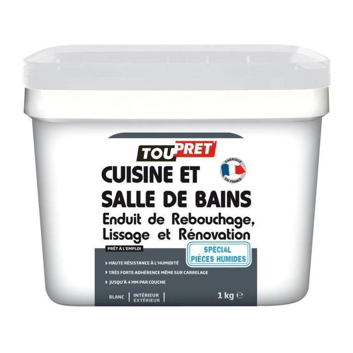 Toupret Enduit Renovation Cuisine Et Salle De Bains 1 Kg Achat