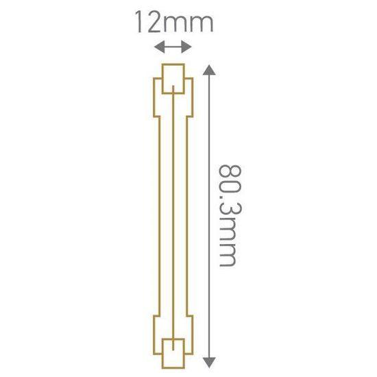 Lot de 2 R7S Eco-Halo 118mm 230W 2900K 4644Lm