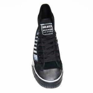 Baskets hi top, gothique, rock, emo DRAVEN DP77 SERIES DUENE