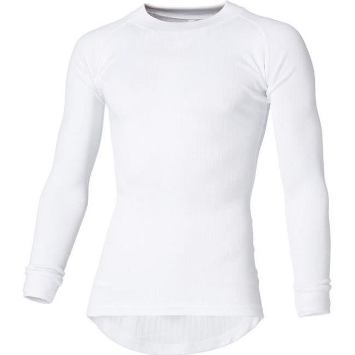 AVENTO Sous-vêtement thermique Manches Longues - Homme - Blanc